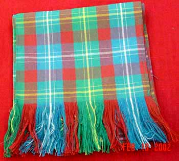 Scarf - Standard Tartan (Ancient Colors)