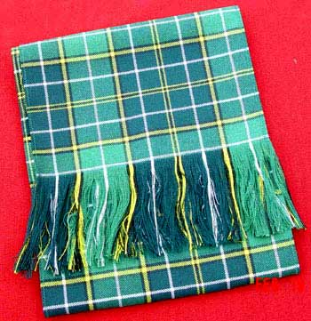Scarf - Hunting Tartan (Ancient Colors)