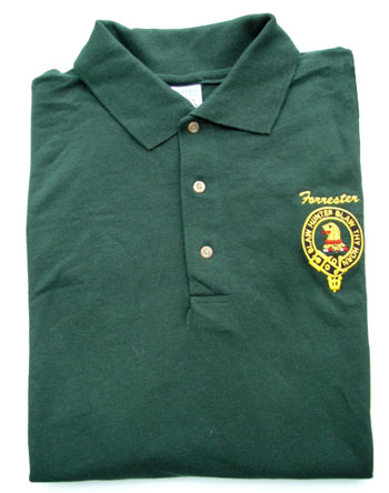 Golf Shirt, Embroidered Crest