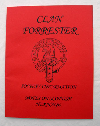 Clan Forrester: Society Information