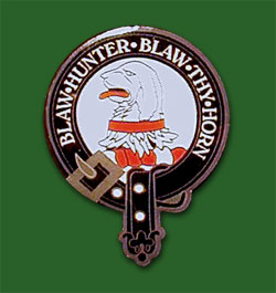 Clan Forrester Pin