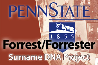Forrester Family Tree DNA